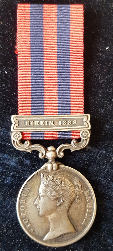 India Medal 1854 Sikkim