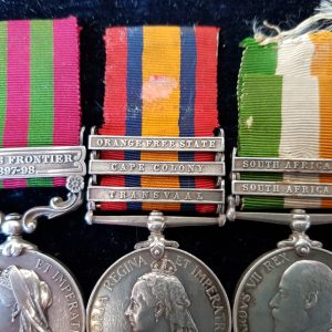 3239 Pte C Cook  Cavalry Medal Group
