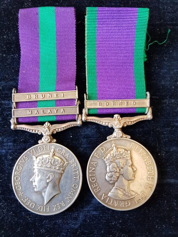 Brigade of Gurkhas Medal Pair