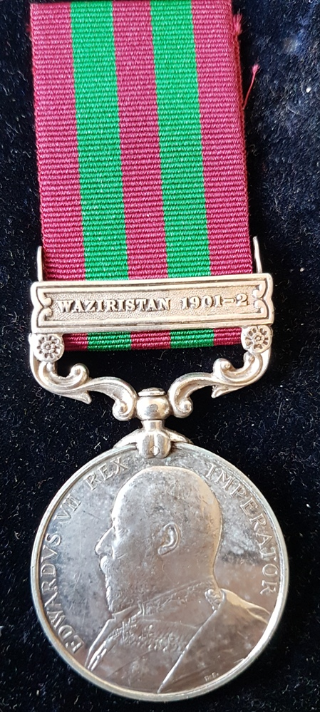 Capt D A D Mcvean 45th Bl Infantry