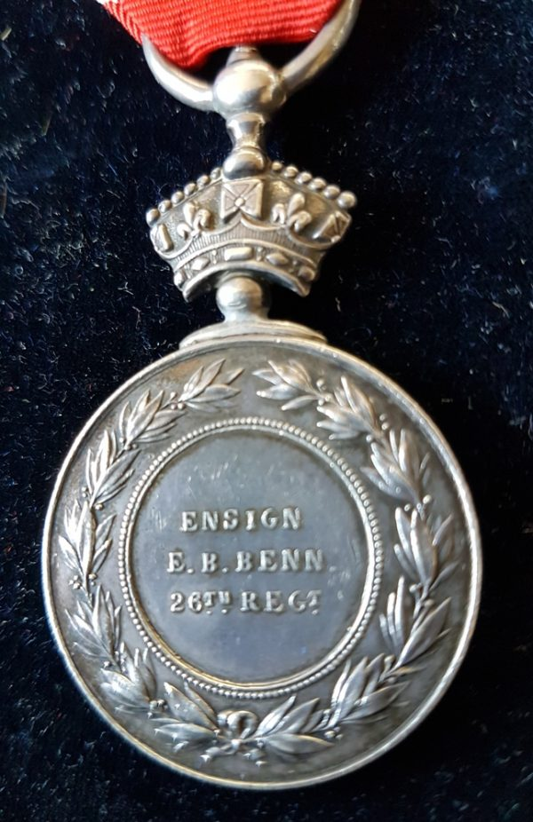 Ensign E. H. BENN. 26th Foot