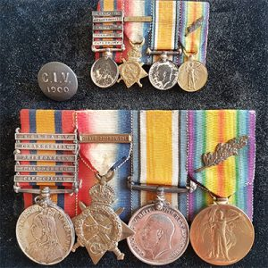Orders, Medals & Decorations