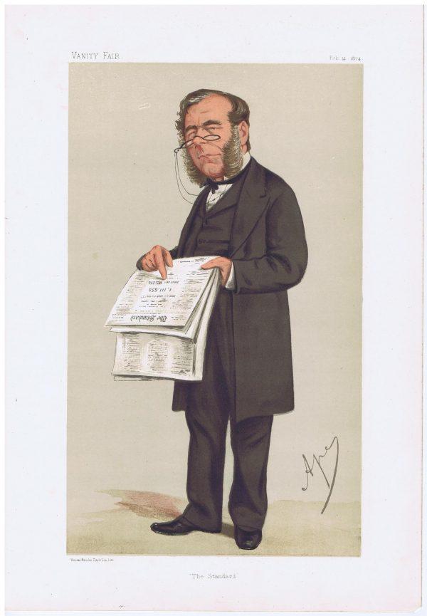 James Johnstone, Newspaper Proprietor