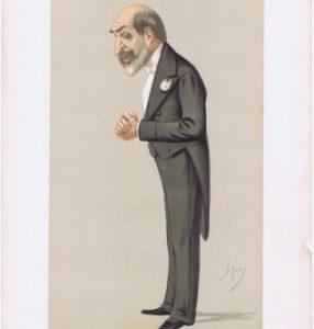 Sir Arthur Helps Vanity Fair Print