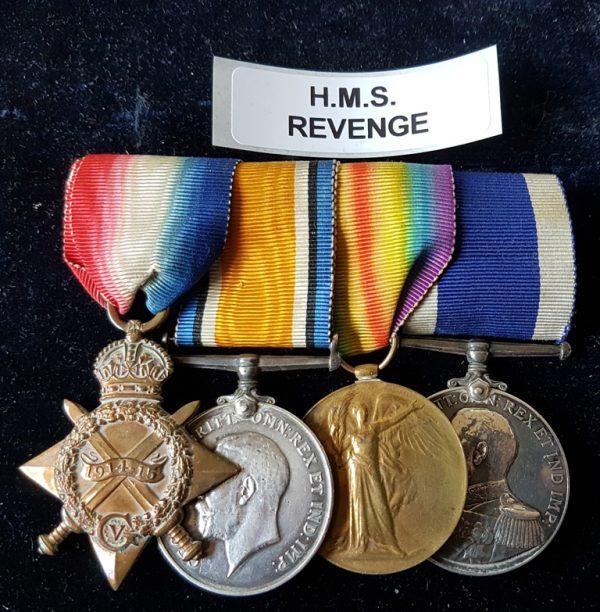 M4911 S. G. COOKE. E.R.A. 1. HMS REVENGE.