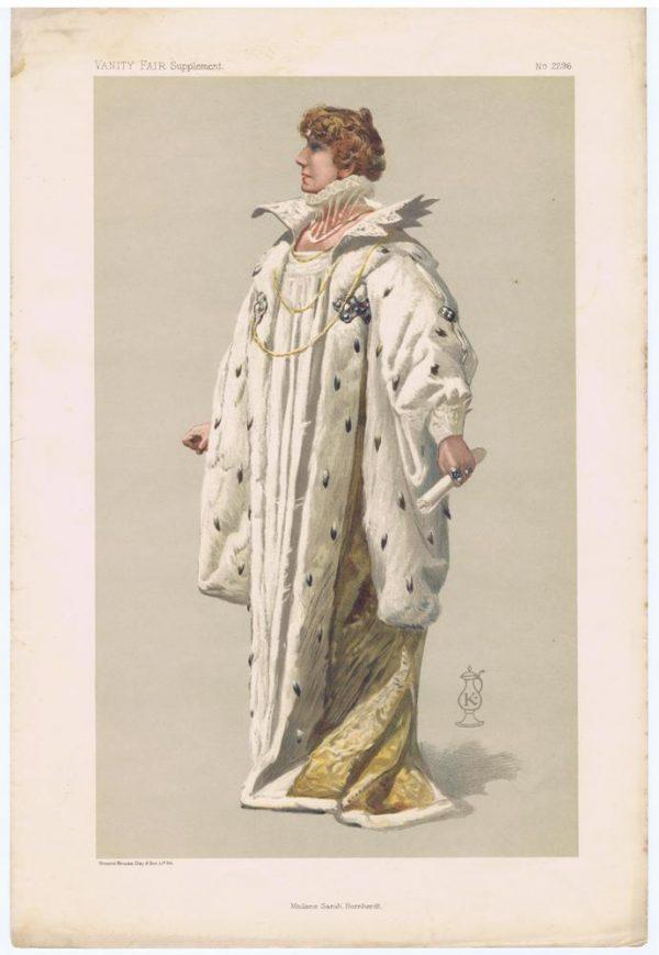 Madame Sarah Bernhardt
