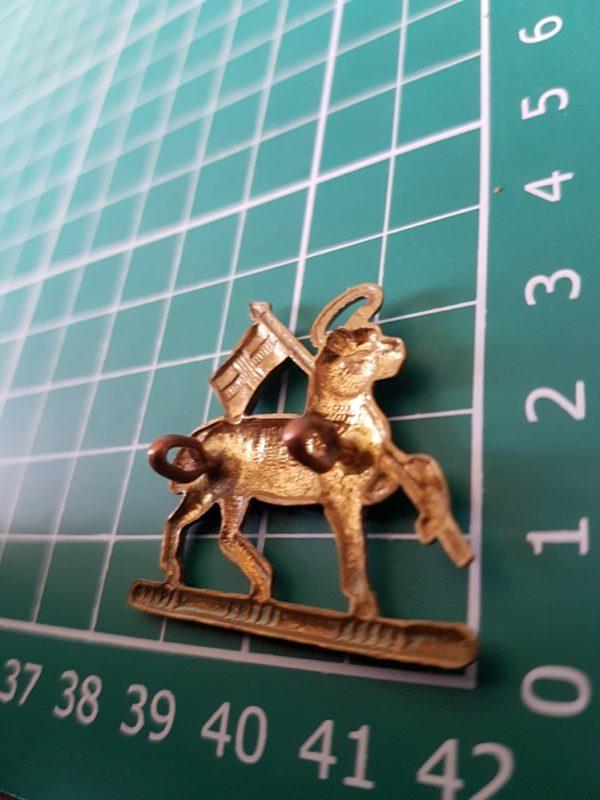 Queen's Royal West Surrey Regiment Collar Badge