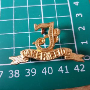 Seaforth Highlanders Regiment Scottish Collar Badge