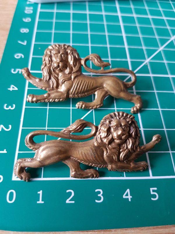 King's Own Royal Lancaster Regiment Collar Badge