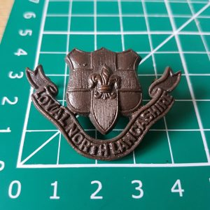 Loyal North Lancs Officers Badge