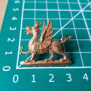 monmouth regiment collar badge
