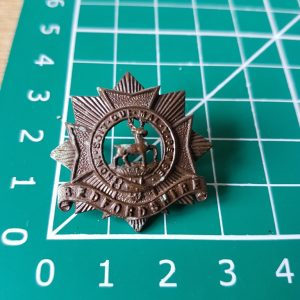 Bedfordshire Regiment Collar Badge