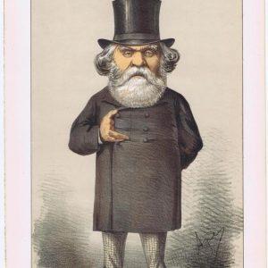 Austen Henry Layard Vanity Fair Print