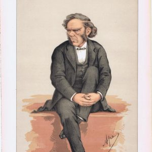 George William Lyttleton Vanity Fair Print 1871