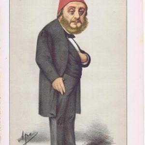 Musurus Pasha Turkish Ambassador Vanity Fair Print