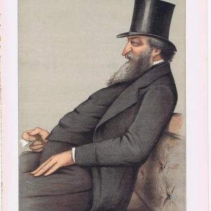 George Ward Hunt Vanity Fair Print 1871