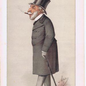 Austrian Ambassador Rudolph Apponyi Vanity Fair Print