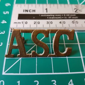 ASC Army Service Corps Shoulder Title