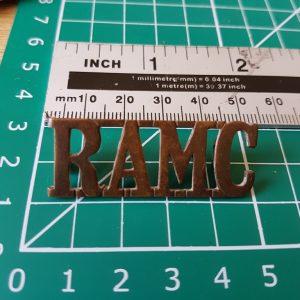 RAMC Shoulder Title