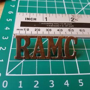 RAMC Shoulder Title