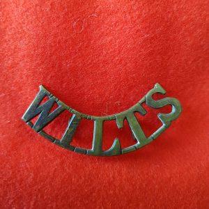 WILTS Wiltshire Regiment Shoulder Title