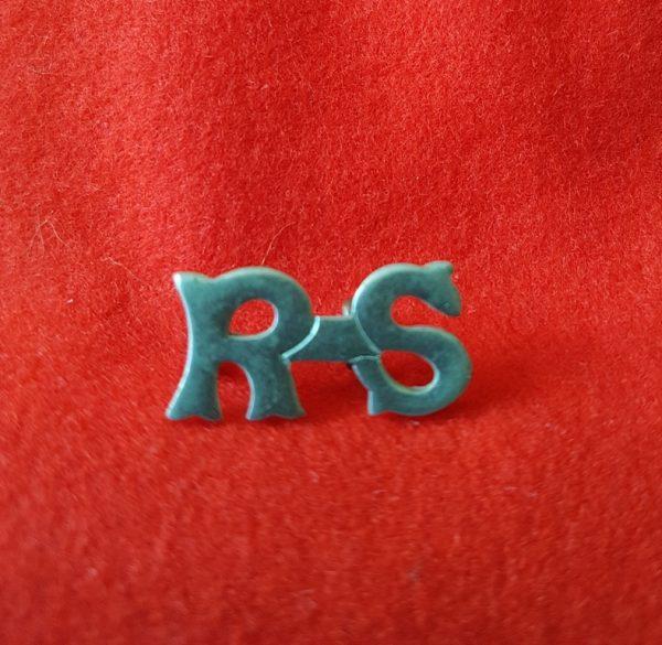 RS Royal Scots Shoulder Title