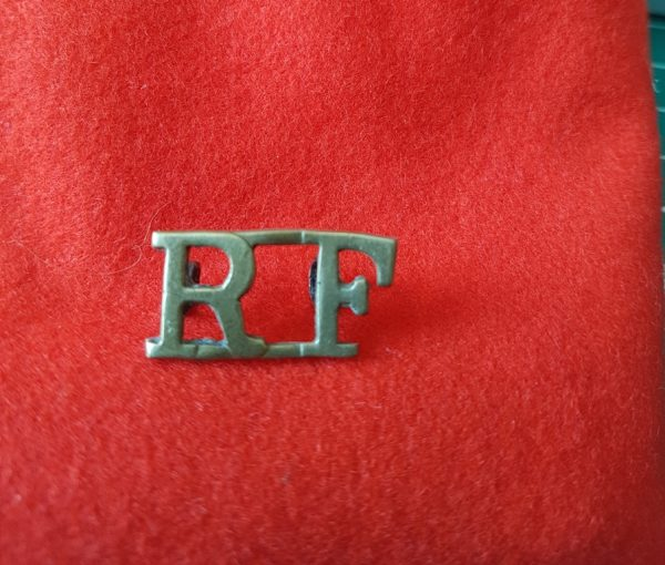 RF Royal Fusiliers Shoulder Title