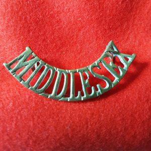 Middlesex Regiment Shoulder Title