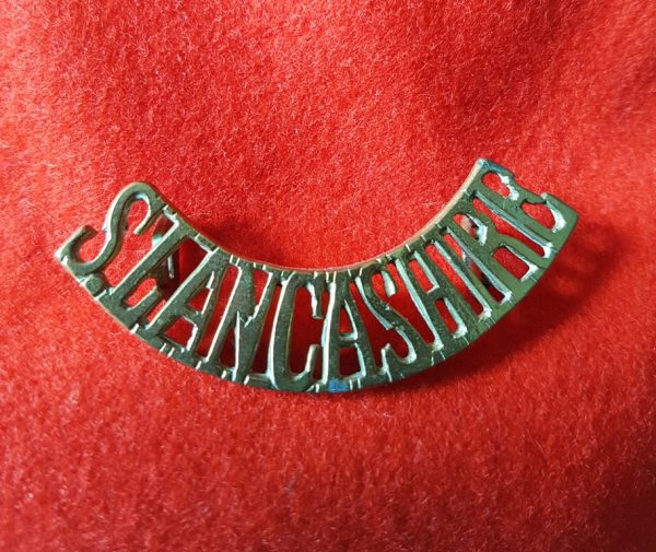 South Lancashire Regiment Shoulder Title