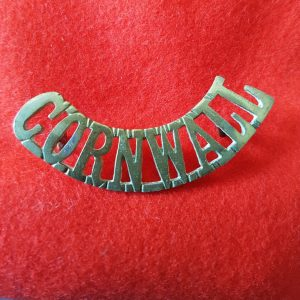 Duke of Cornwall's Light Infantry Regiment Shoulder Title