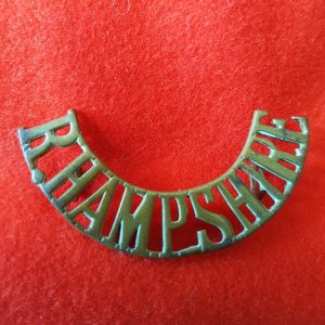 Royal Hampshire Regiment Shoulder Title