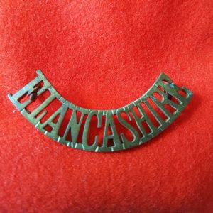 East Lancashire Regiment Shoulder Title