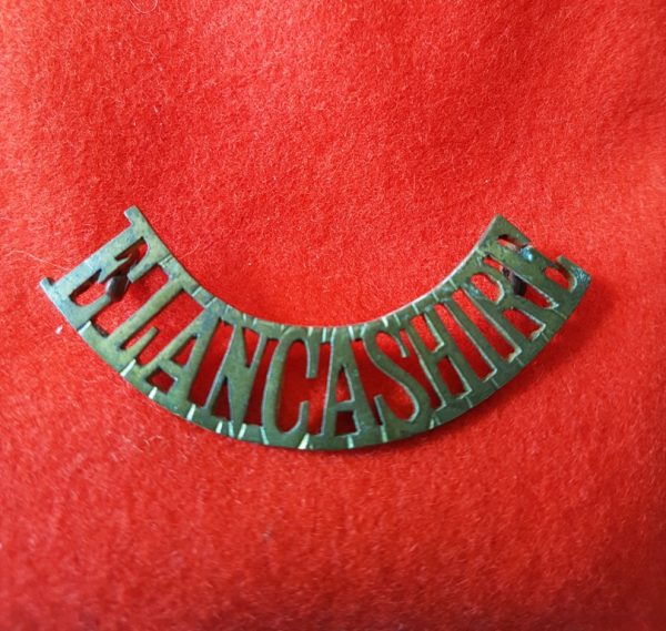 East Lancashire Regiment Shoulder Title
