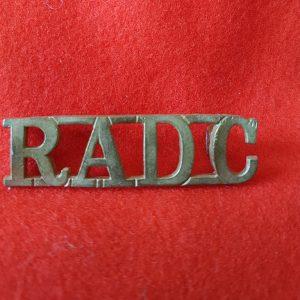 Royal Army Dental Corps Shoulder Title