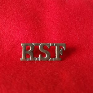Royal Scots Fusiliers Shoulder Title