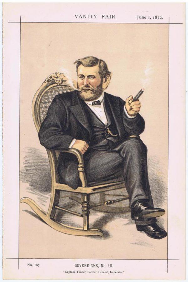 General Ulysses S Grant Vanity Fair Print