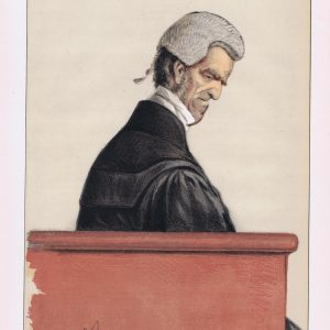 John George Shaw Lefevre Vanity Fair Print 1871