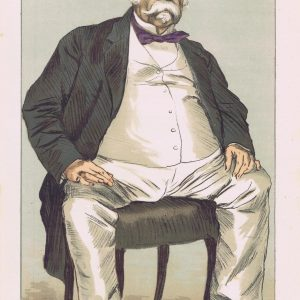 The Duke of Saldanha Vanity Fair Print 1871
