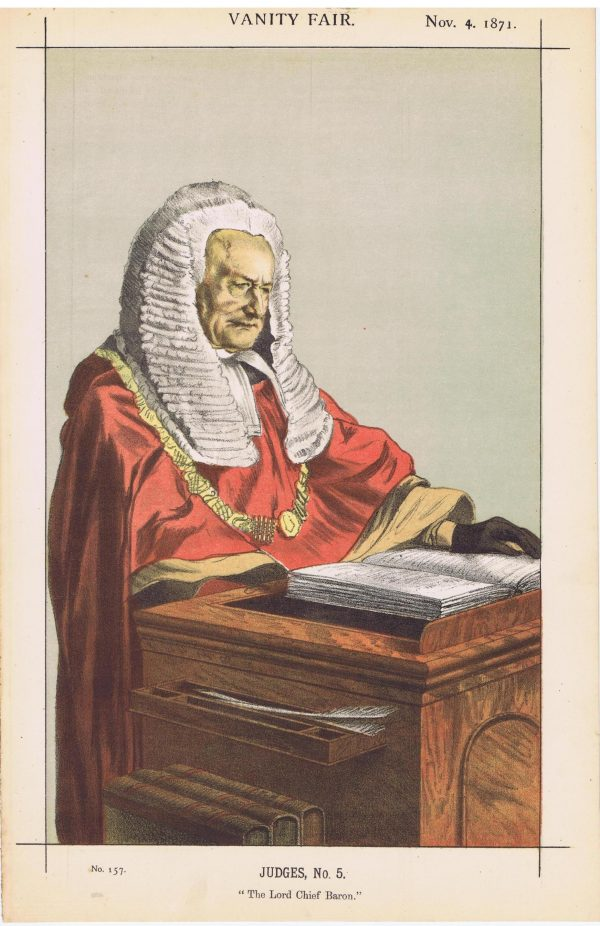 Red Robed Judge Fitzroy Edward Kelley