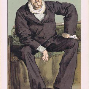 George Bentinck Vanity Fair Print