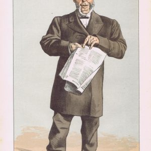 Alderman Lusk Vanity Fair Print 1871