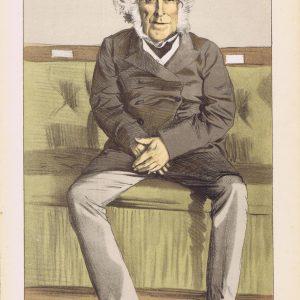 Russell Gurney Original Vanity Fair Print