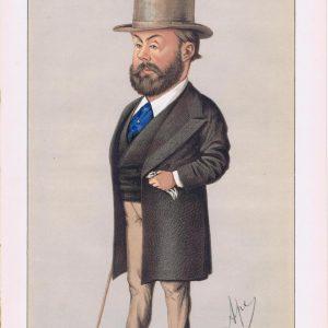 Algernon Borthwick Vanity Fair Print 1871