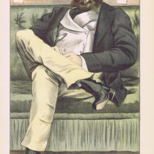 Dawson Damer Vanity Fair Print