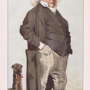 Henry Cole Vanity Fair Print 1871