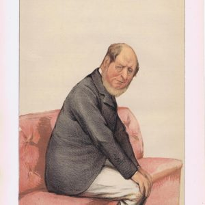 The Marquis of Normanby Vanity Fair Print