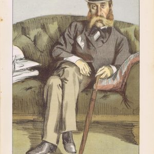 George John Whyte Melville Vanity Fair Print