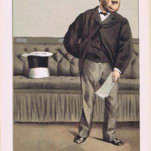 Cavendish Bentinck Vanity Fair Print