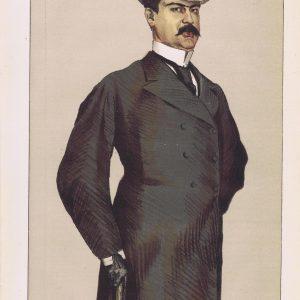 Don Manuel Rances Y Villaneuva Vanity Fair Print 1871