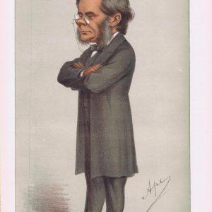 Professor Thomas Henry Huxley Vanity Fair Print